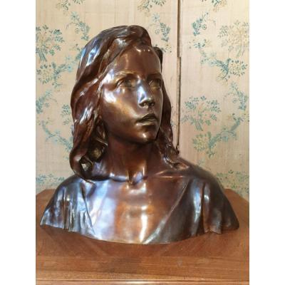 Bronze de Raoul LARCHE (1860-1912)