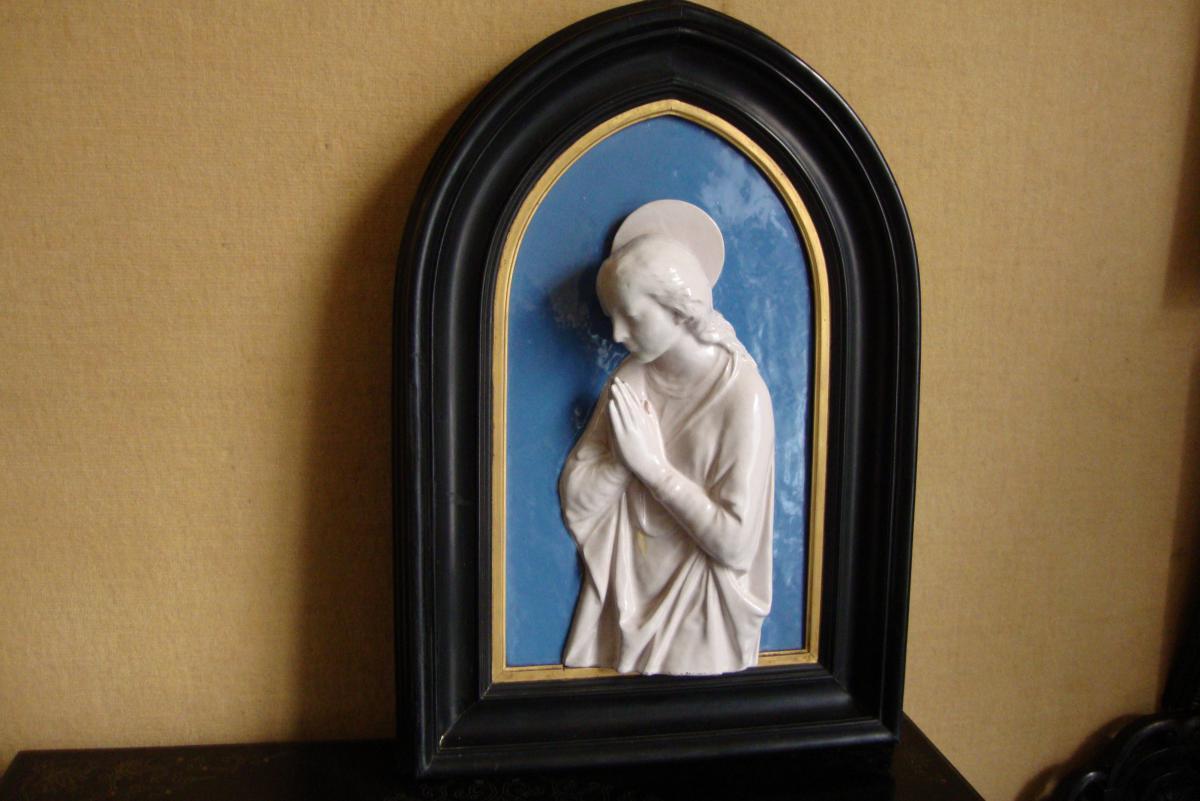 Vierge En Prière Della Robbia d'Après