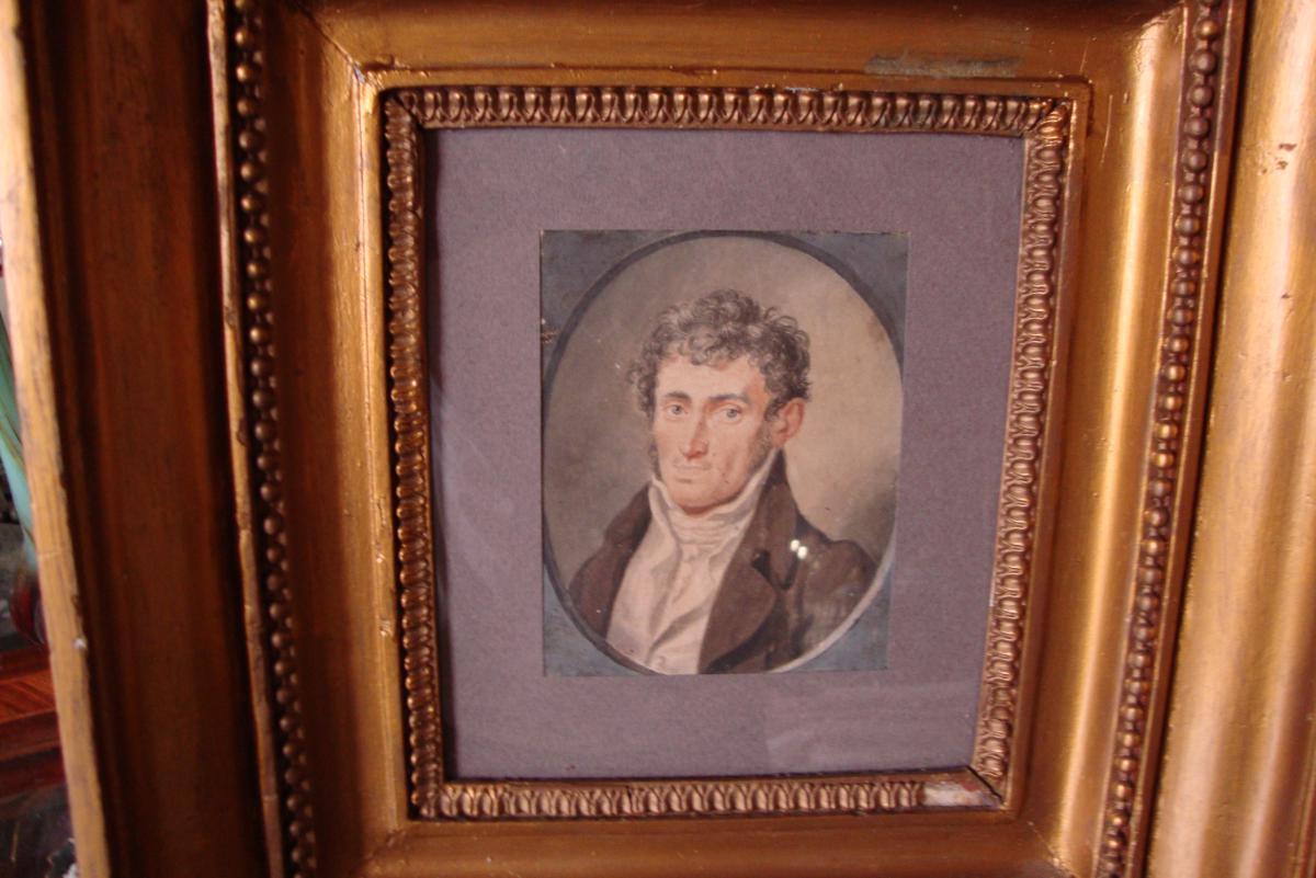 Portrait d'Homme XVIIIème Siècle