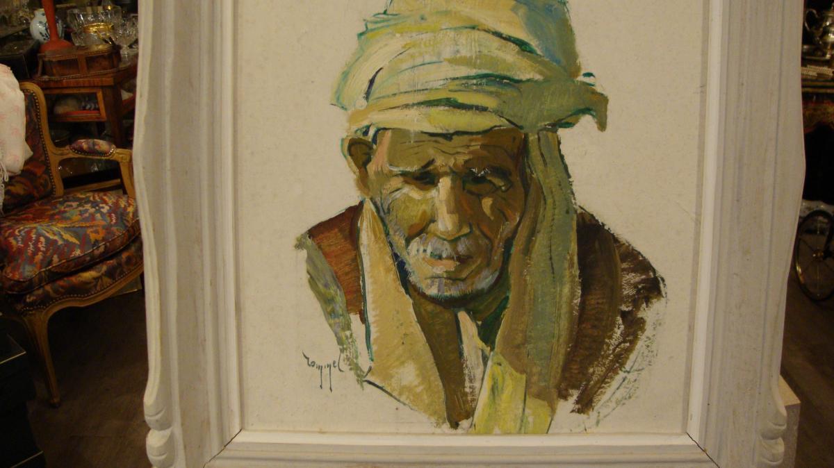 Orientalist Portrait Of Man