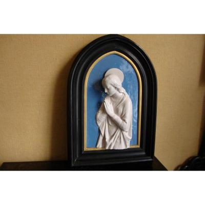 Virgin In Prayer Della Robbia And After