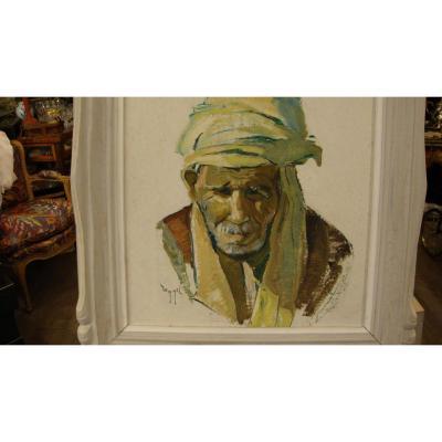 Portrait Orientaliste d'Homme