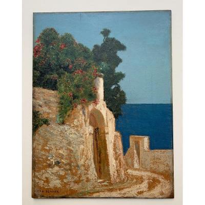 Jean Benner (1836-1906), Vue De Capri
