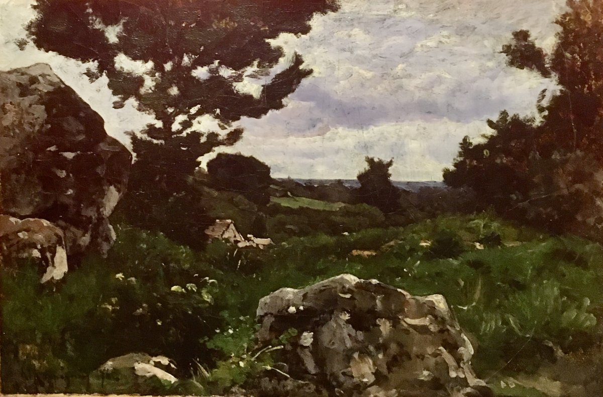 Henri Joseph Harpignies 1819-1916