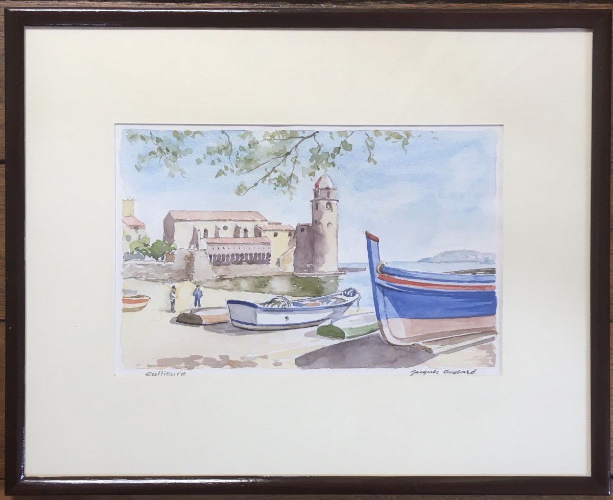 Jacques Godard (1920-2016) - Collioure