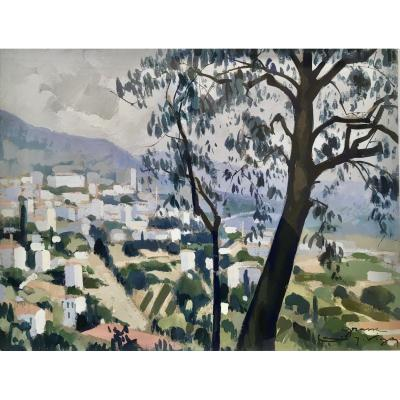 Louis Jacques Vigon 1897-1985 Painter From The School Of Rouen