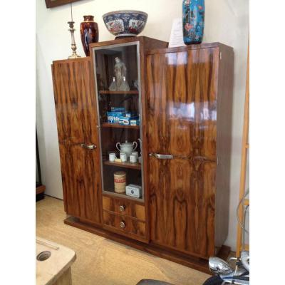 biblioth que ancienne sur proantic art d co. Black Bedroom Furniture Sets. Home Design Ideas