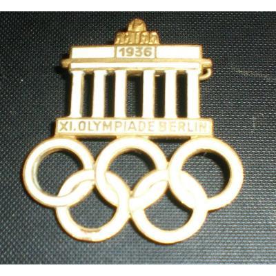 """Rare Pin """"1936 XI.olympiade Berlin"""""""