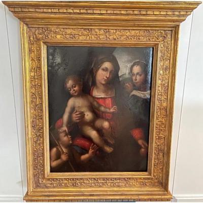 La Vierge à L'enfant Avec L'enfant Jean-baptiste et St Marie-Madeleine – Bagnacavallo Junior