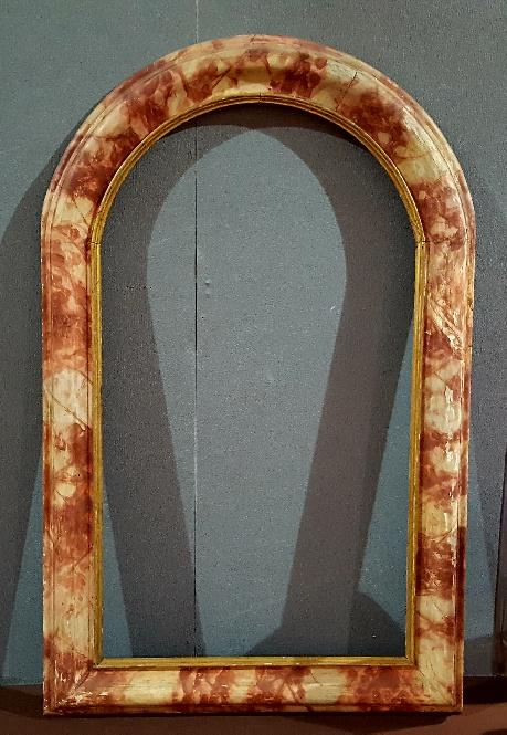 Cadre Laqué Faux Marbre