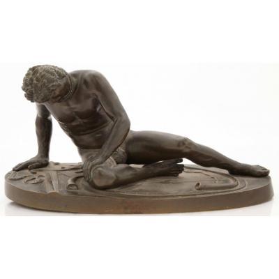 Luigi Salvaggi Esclave Mourant  XIXème Italie Rome