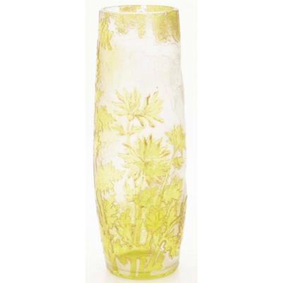 Vase Val Saint Lambert Art Nouveau