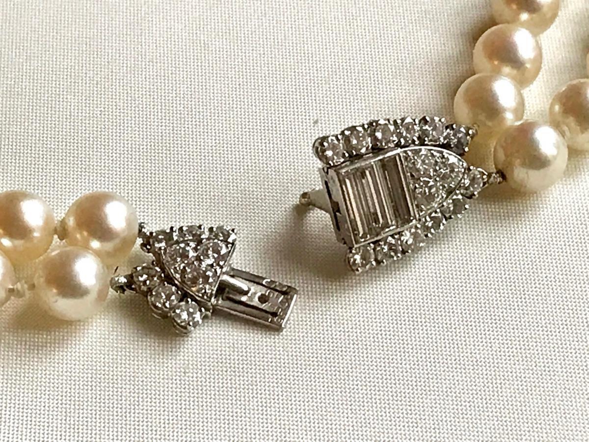 Necklace Pearl Necklace 2 Rows Van Cleef & Arpels-photo-3