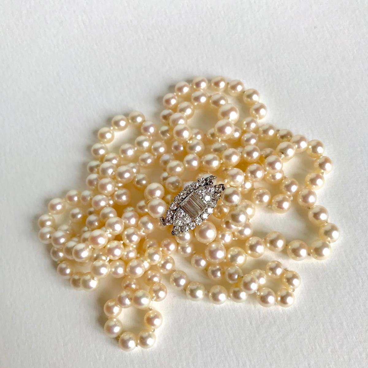 Necklace Pearl Necklace 2 Rows Van Cleef & Arpels-photo-1