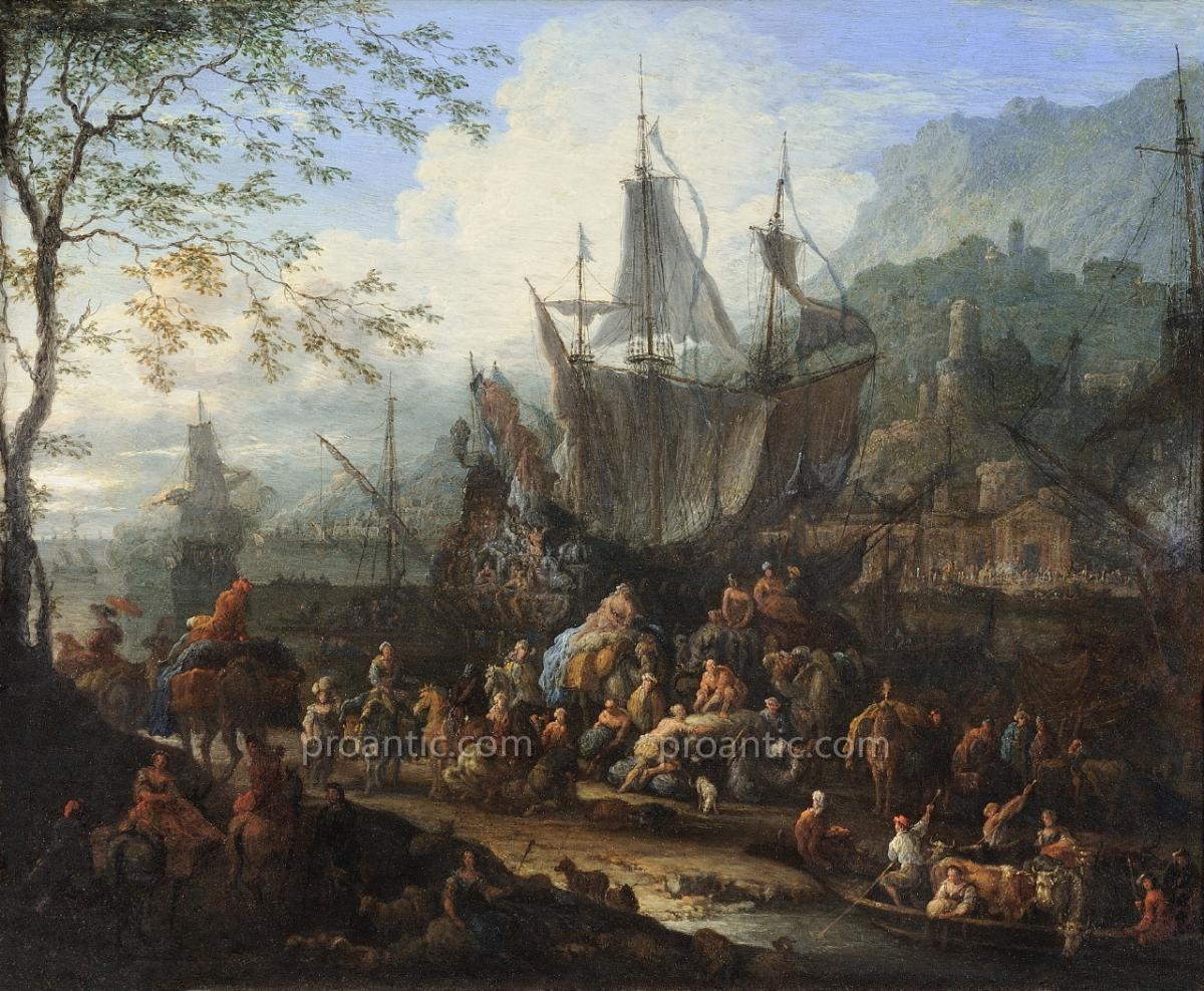 Jan-baptist Van Der Meiren, Animated Port Scene