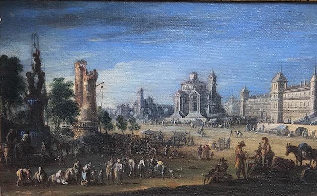 Ecole Française XVIIe Entourage De Jacques Callot