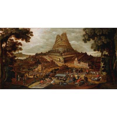 La Tour De Babel, Attribué à Hendrick III Van Cleve