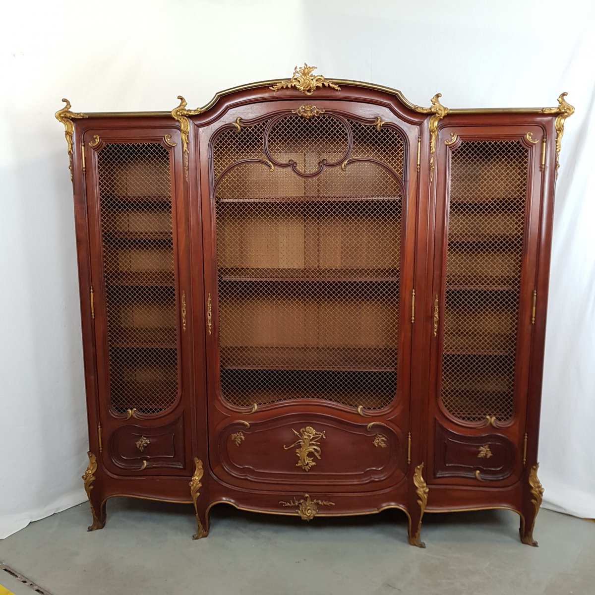 Louis XV Style Library-photo-4