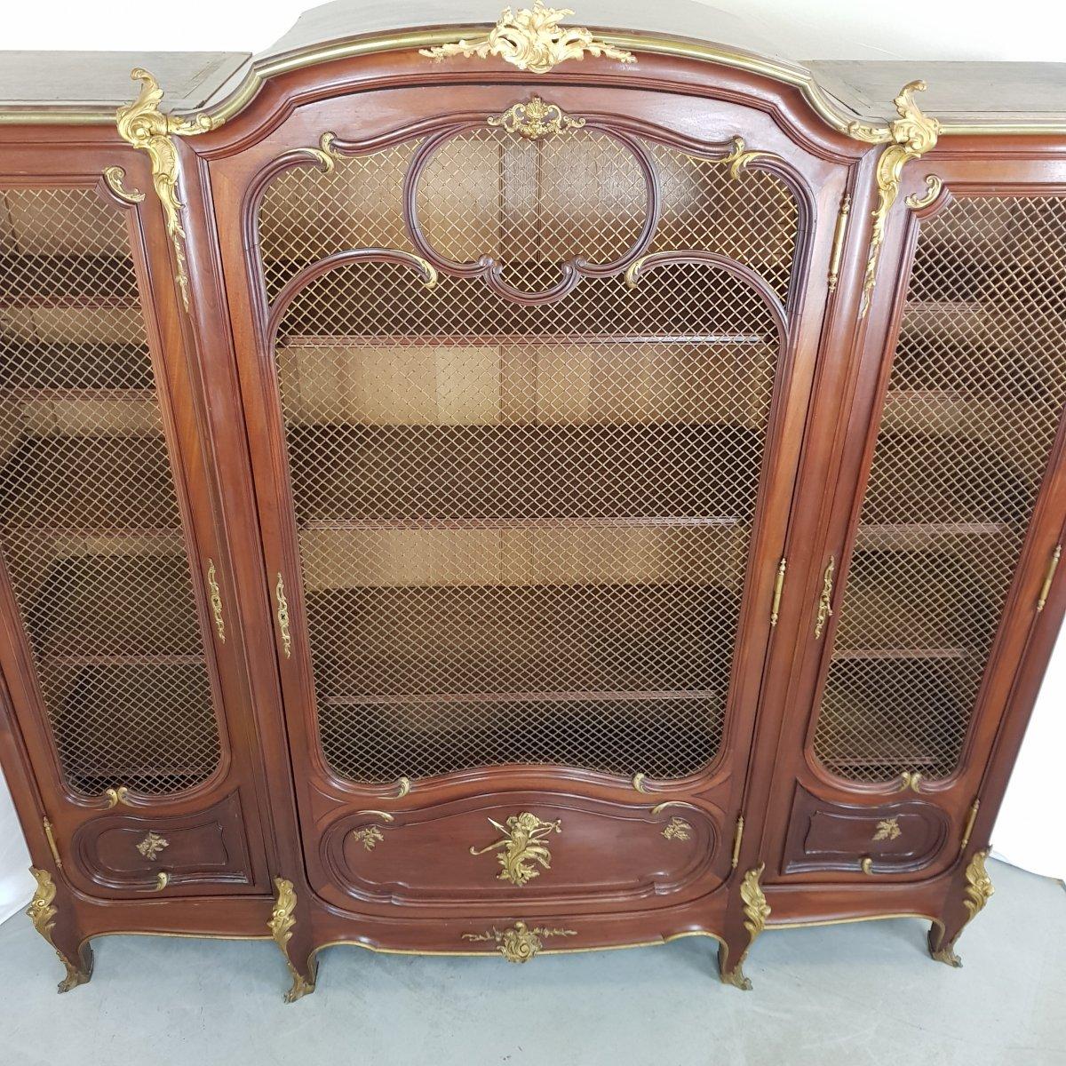 Louis XV Style Library-photo-5