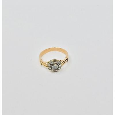 Bague En Or Et Diamants