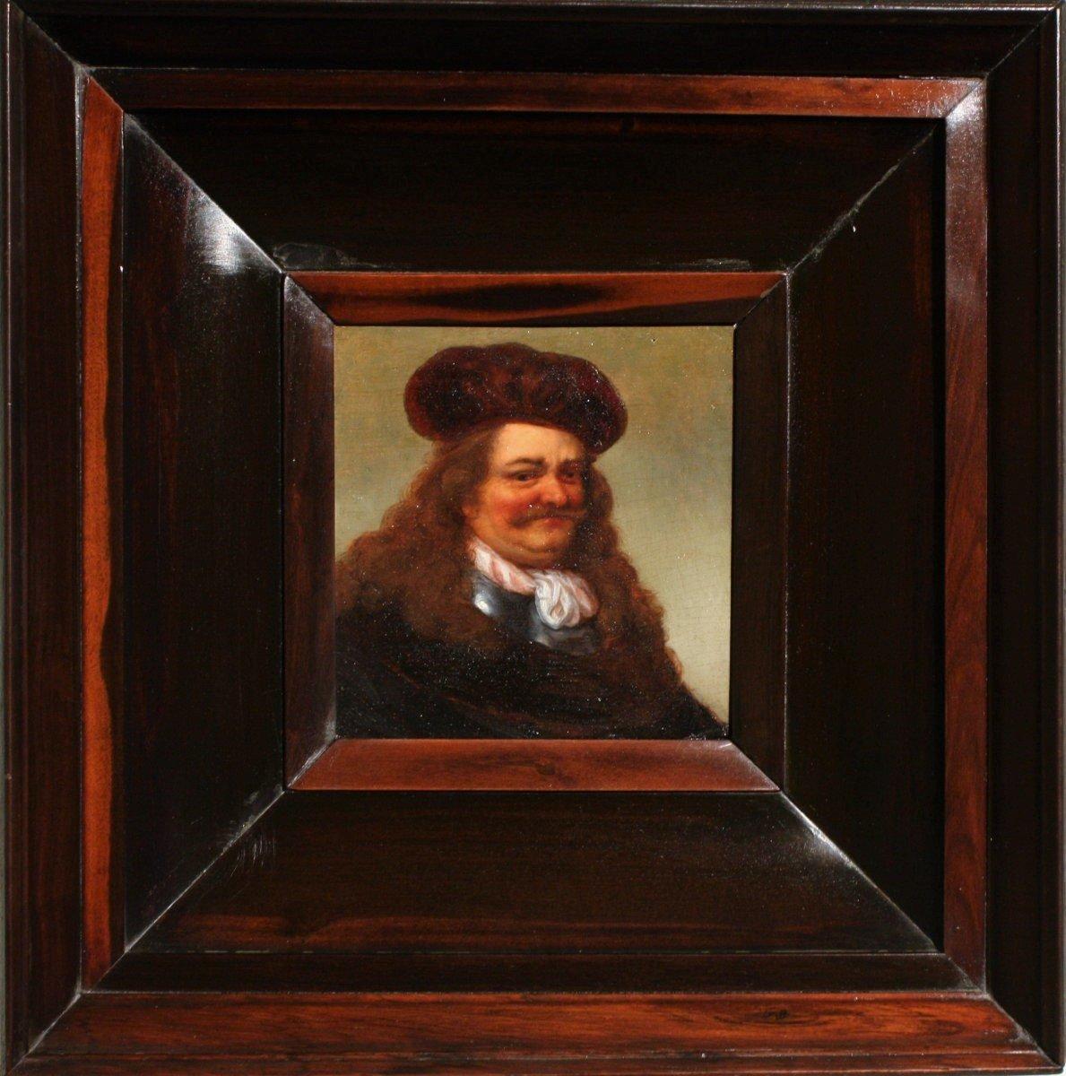 Portrait Of A Gentleman, 17th C., Circle Of Govaert Flinck