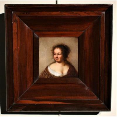 Portrait Of Lady, 17th C., Circle Of  Govaert Flinck