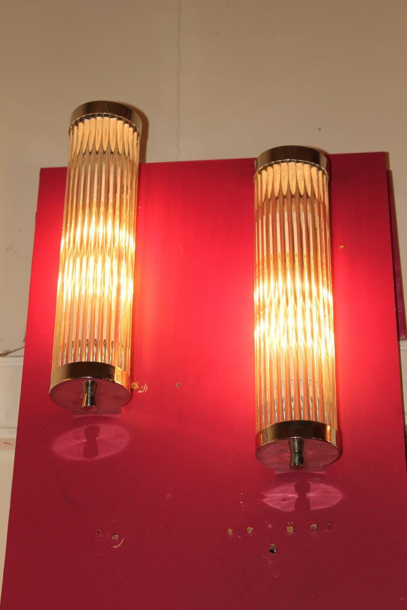 Paire d'Appliques Art Deco Petitot (cat: Applique Art Déco 1930)