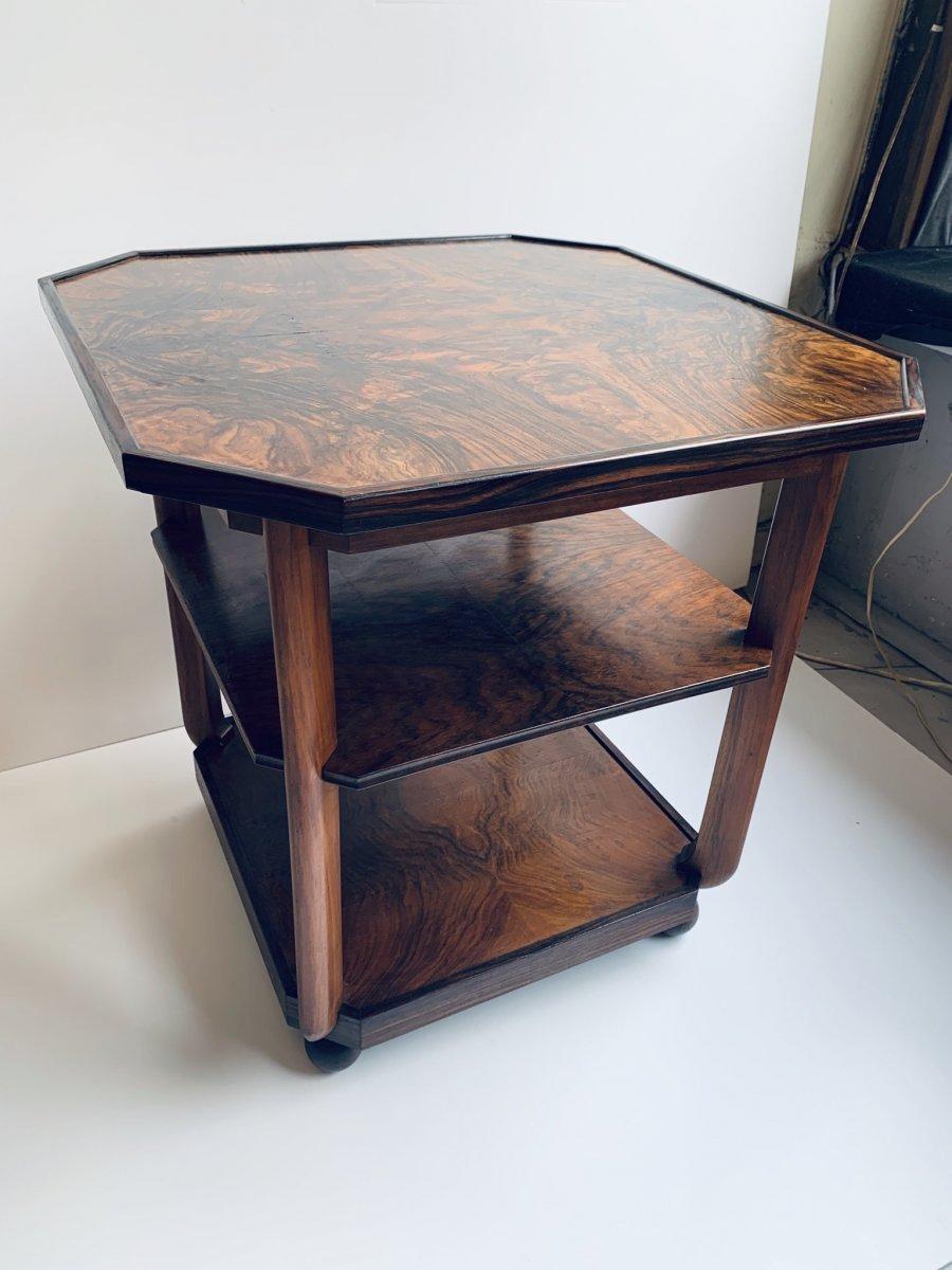 Coffee Table - Pedestal Art Deco School Amsterdam (cat: Tables Art Deco 1930)