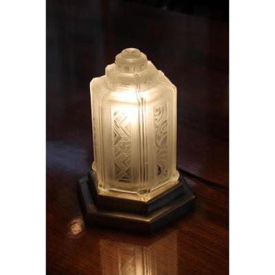 lampe ancienne sur proantic art d co 20 me si cle. Black Bedroom Furniture Sets. Home Design Ideas