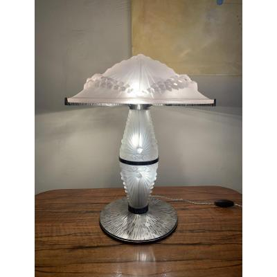 Extremely Rare Art Deco Lamp