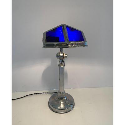Lampe De Bureau Art Déco  «PIROUETT»  Télescopique Et Orientable ( Lampes Art Deco 1930 )