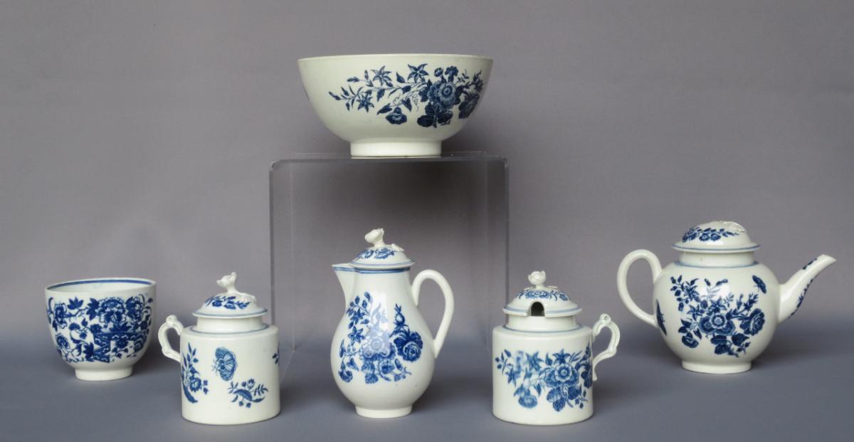 Porcelaines De Caughley XVIIIe Siècle.