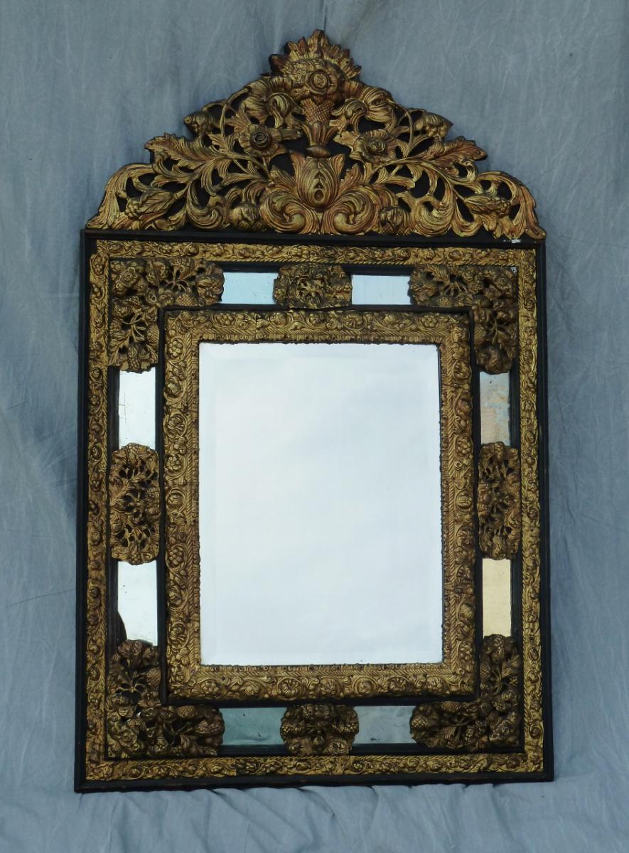 Miroir de style louis xiii miroirs for Miroir louis xiii