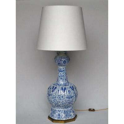 Delft Earthenware Lamp.