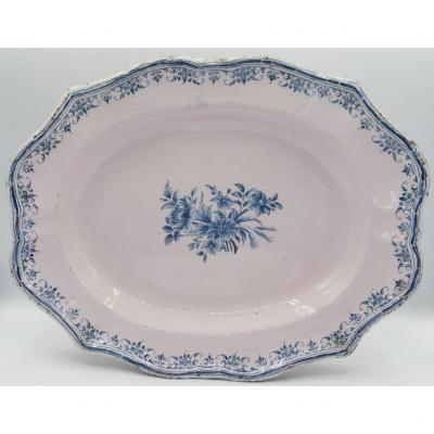 Moustiers Faience Dish, Eighteenth Century.