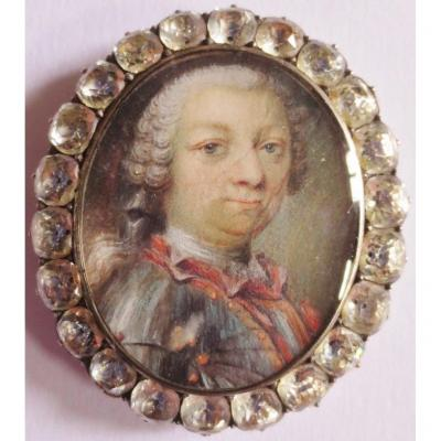 Miniature Sur Vélin époque Louis XV.