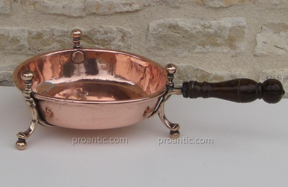 Stove Embers Of Copper. Eighteenth Century.