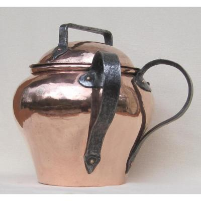 Confit Pot, Made Of Copper. Eighteenth Century
