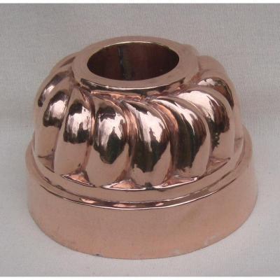 Bavarian Mold, Copper. 19th Century.