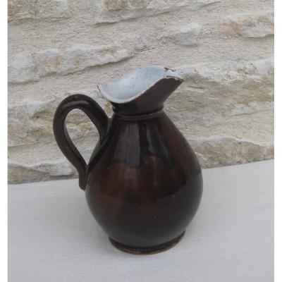 Poterie. Petit Pichet à cidre. BONNÉTABLE (Sarthe). XIXe s.