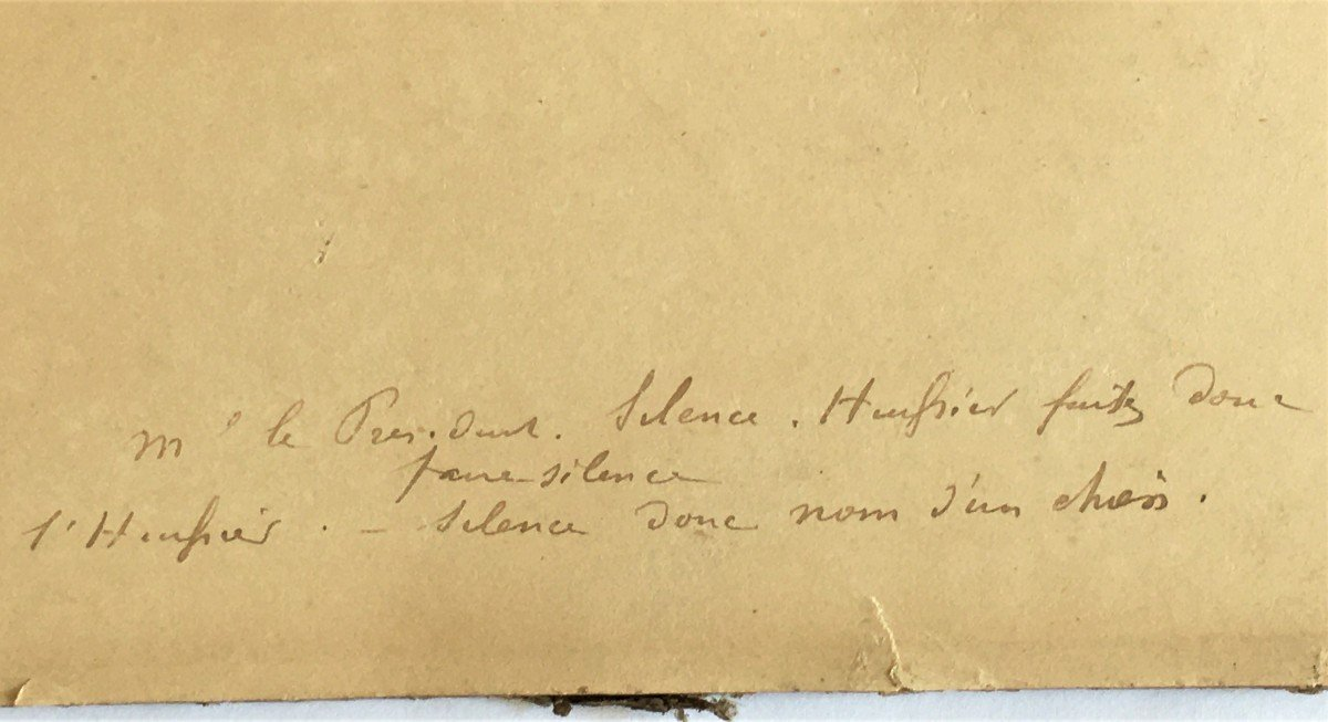 Eugène Cotten 1840/1902 Scène De Tribunal Aquarelle Originale-photo-4