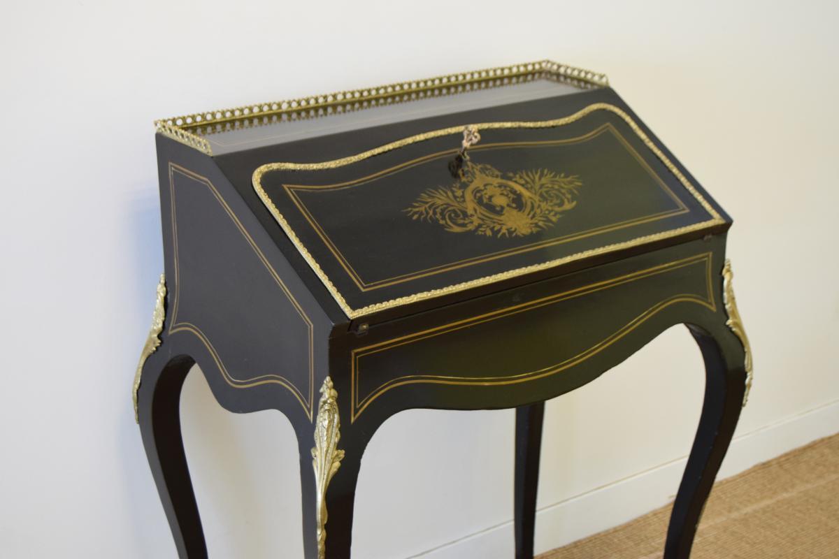 Bureau De Pente Napoleon III-photo-4