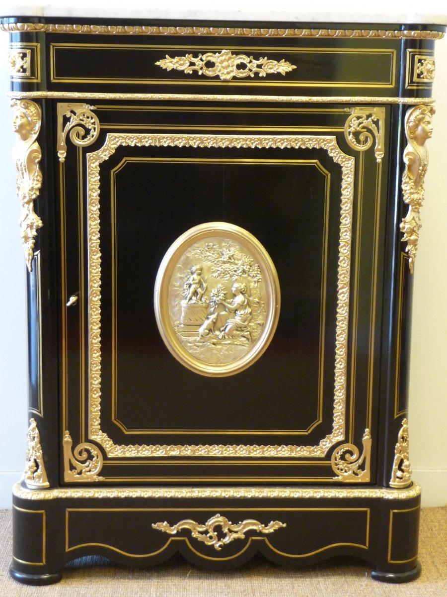 Meuble d'Appui Avec Médaillon d'époque Napoleon III