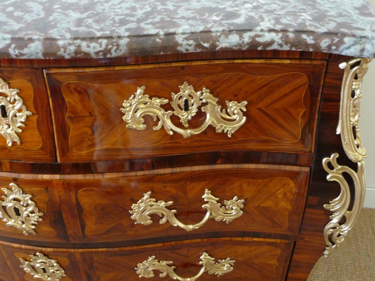 Commode Tombeau  d'époque Louis XV-photo-4