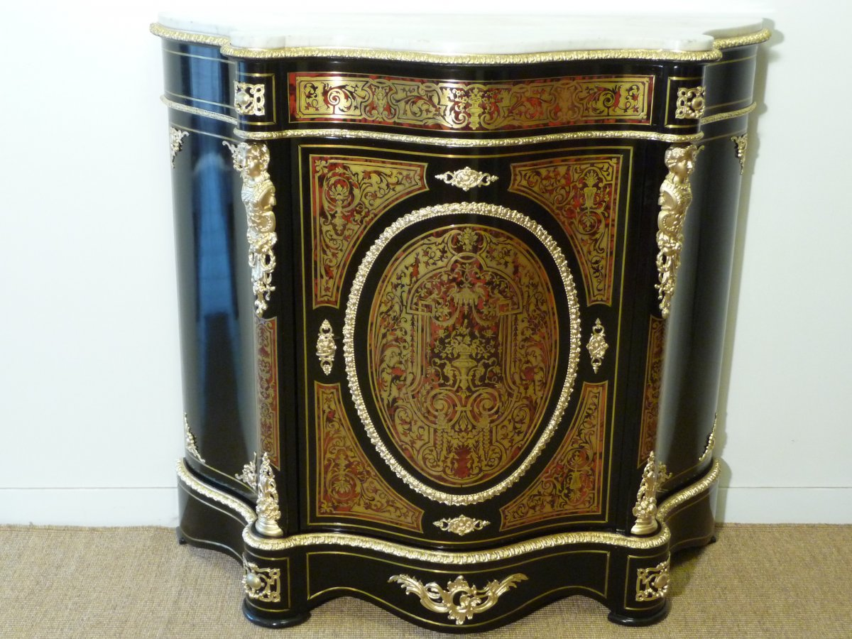 Boulle Marquetry Support Cabinet