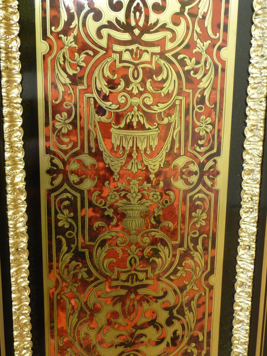 Boulle Support Cabinet Two Doors-photo-3