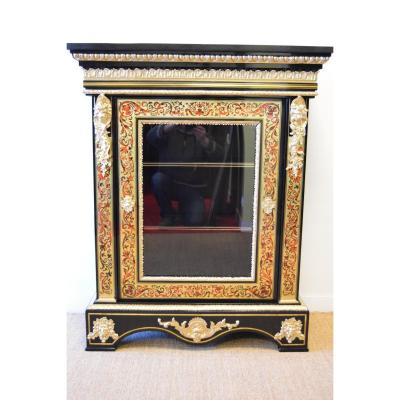 Showcase Boulle Marquetry