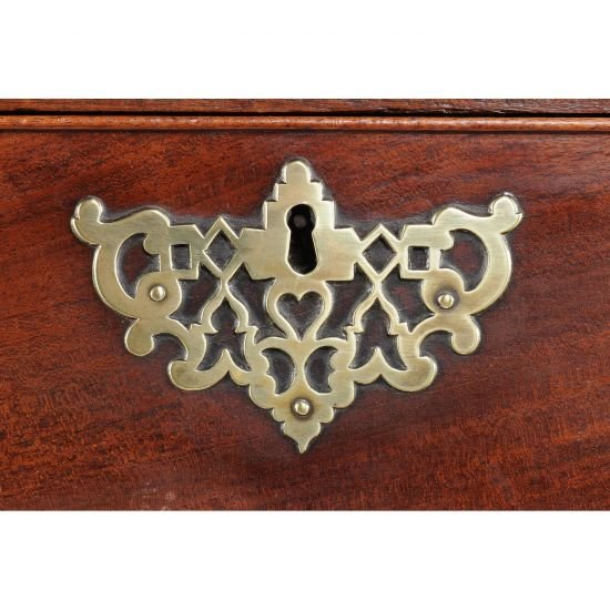 18c George III Period Mahogany Chest On Chest-photo-3