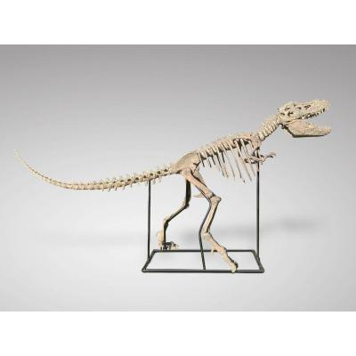 A Large Composite Model Of A Dinosaur