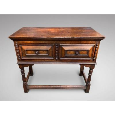 Antique Small Oak English Dresser